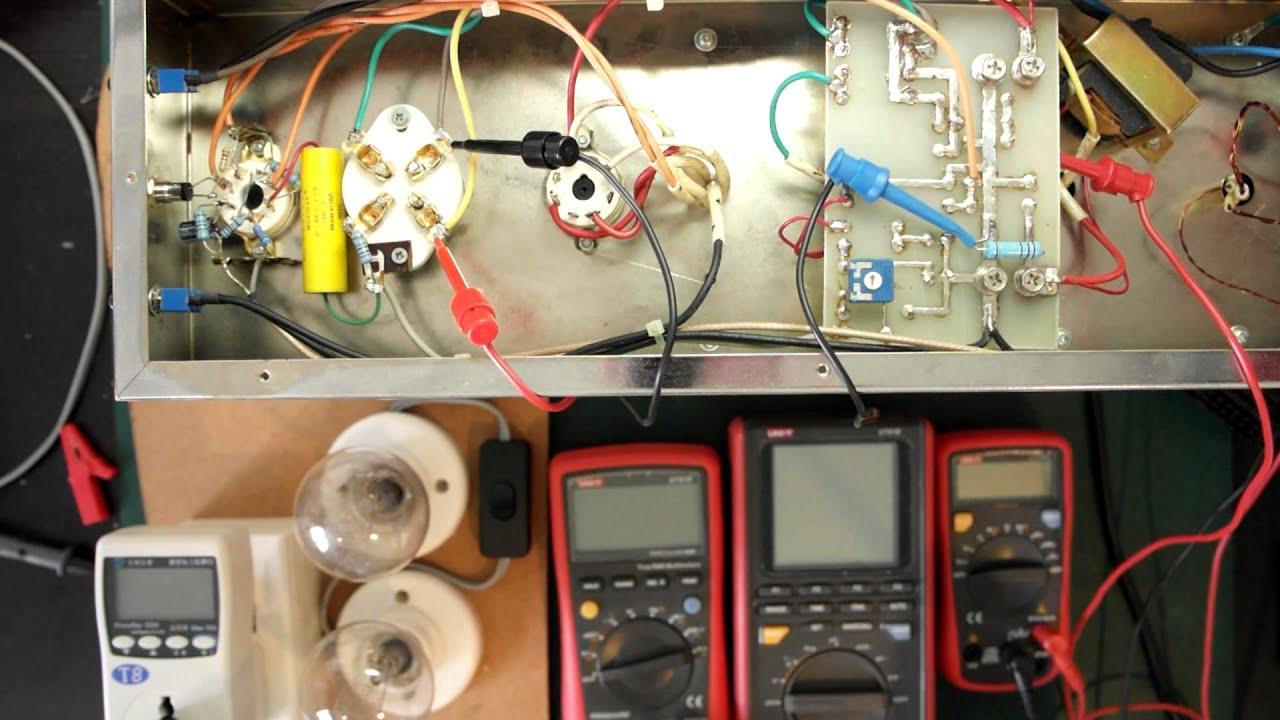 tube amplifier 300b set single ended triode part 2 bias adjustment youtube. Black Bedroom Furniture Sets. Home Design Ideas