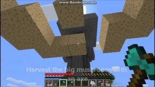 Minecraft - How to build a mushroom farm starting with one mycelium