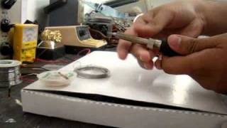 how to clean an oxidized soldering tip