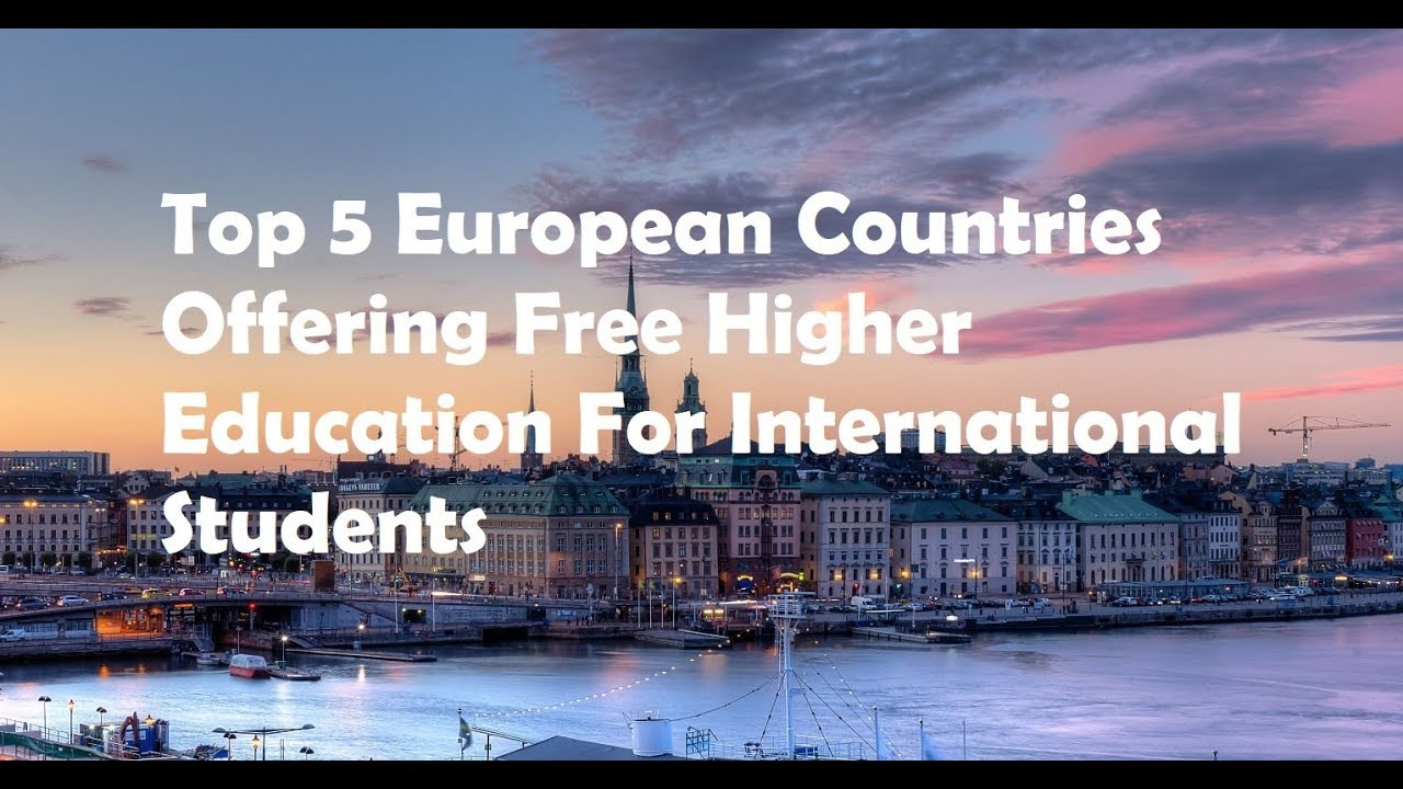 which european countries offer free higher education