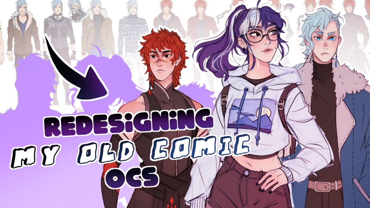 Download REVAMPING OCS FROM MY OLD WEBCOMIC