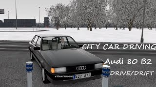 Audi 80 B2 | Drive+Drift | City Car Driving
