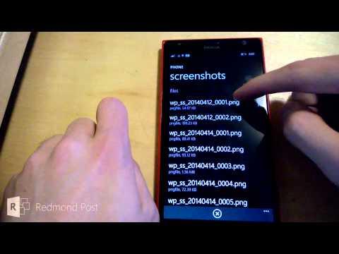 Native File Explorer Discovered In Windows Phone 8.1?