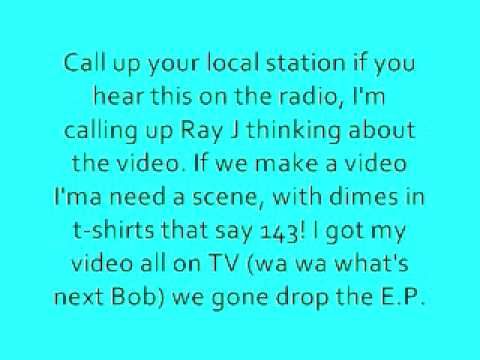 143 Bobby Brackins ft Ray J - With Lyrics