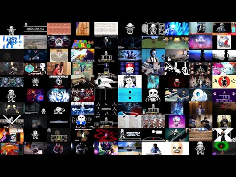 Megalovania But It's 100 Versions At Once