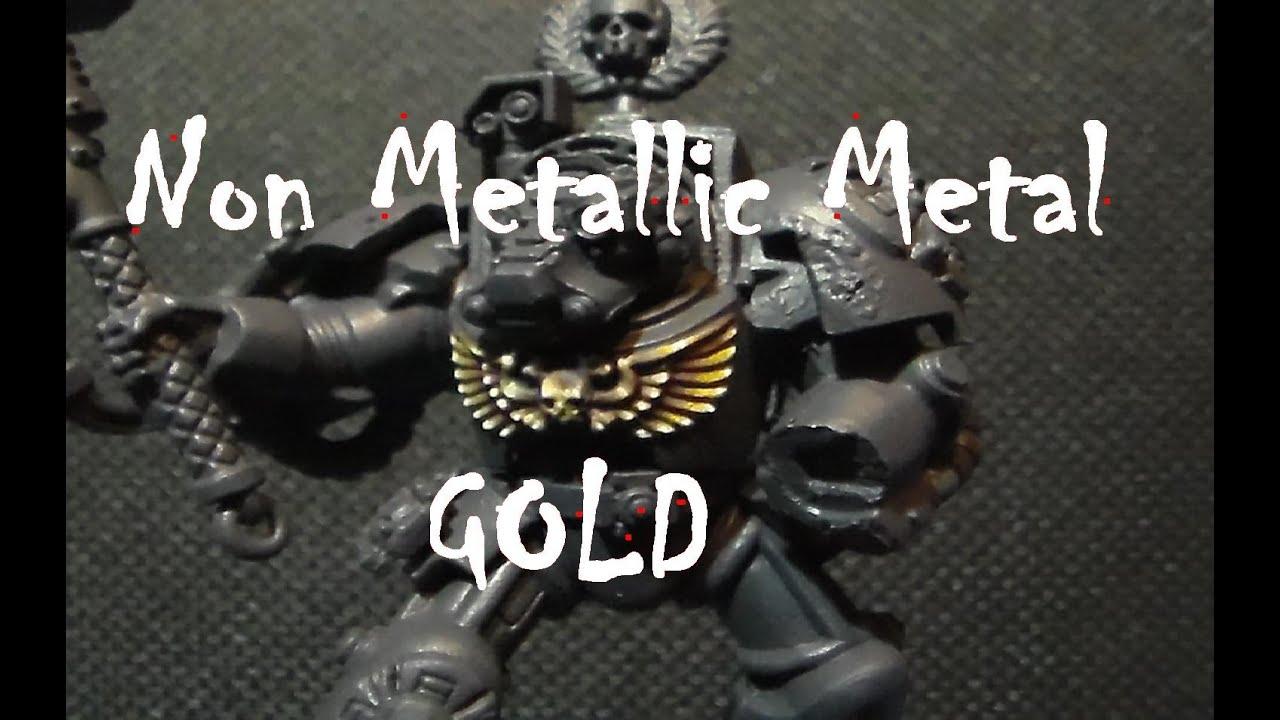 Non Metallic Metal Painting