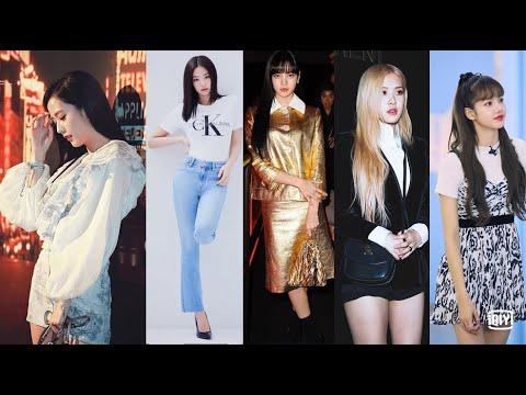 Like Blackpink Jennie Lisa Rose Jisoo Fashion Style 2020 Youtube