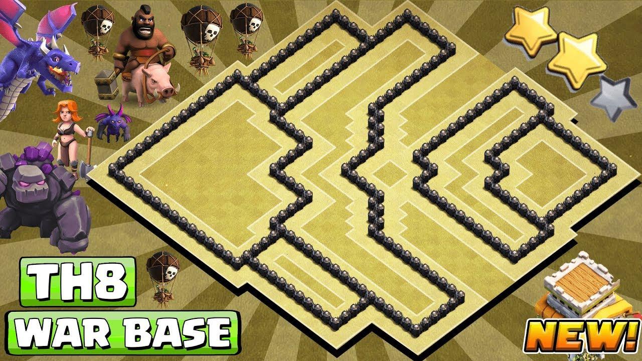 Base Coc Th 8 Anti Darat Dan Udara 8