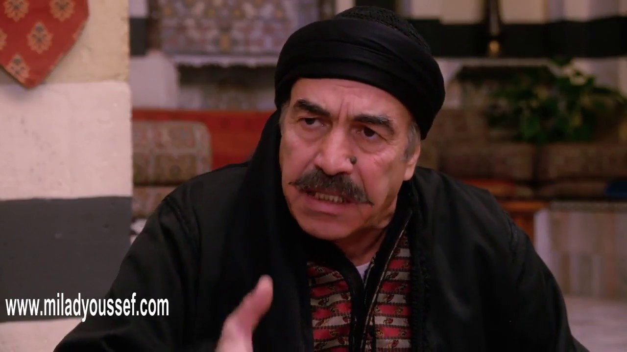 باب الحارة 9  - ابو النار ما بيرجع بنته لعصام قبل ما يسجلها حصة بالبيت  - ميلاد يوسف - علي كريم