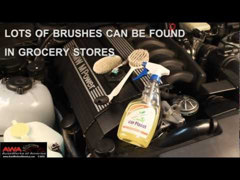 Keep Your Engine Bay Clean