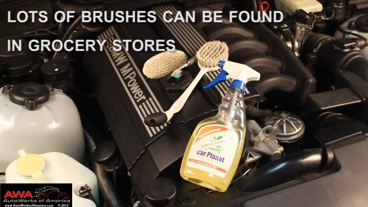 Engine Bay Cleaning >> Keep Your Engine Bay Clean - YouTube