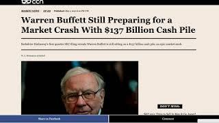 Bitcoin CNBC Bullish ?  Warren Buffet stashing Cash   Murdered Hornets