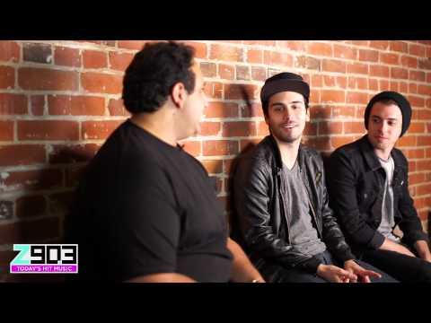 Cash Cash Backstage Interview