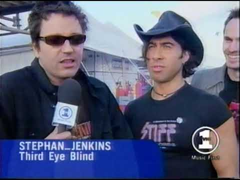 """Third Eye Blind - Interview before """"Deep Inside Of You"""" video"""