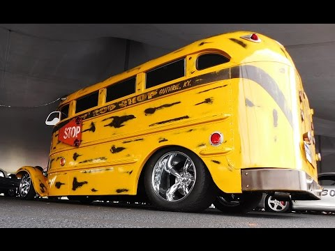 Hot Rod School Bus 2016 Auctions America Auburn Fall Collector Car Weekend