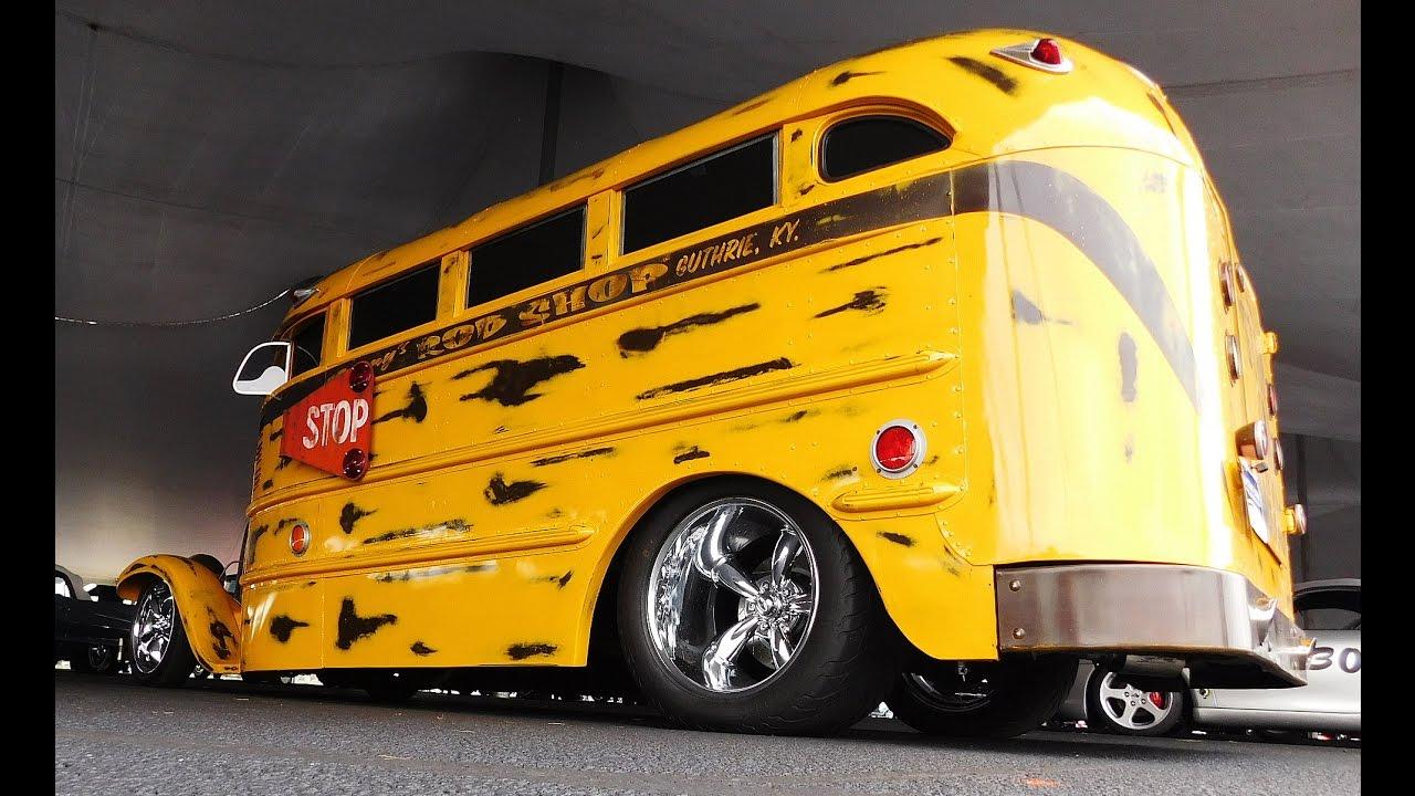 Hot Rod School Bus 2016 Auctions America Auburn Fall Collector Car ...