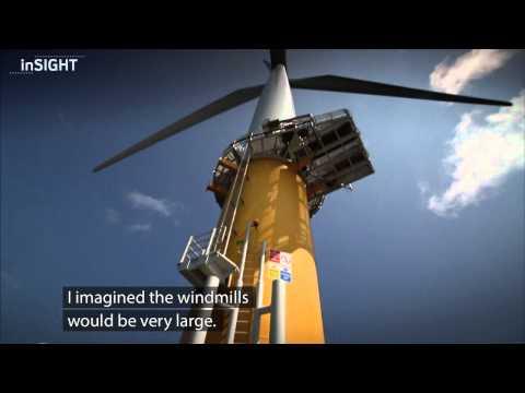 Sheringham Shoal, UK - Summer project on Statkrafts first offshore wind farm.