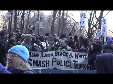 NYPD killing of Sean Bell Protested