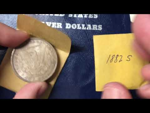 When should you dip or clean a coin. Video 1 - Toned Morgan Silver Dollars