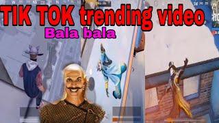 #BALABALA pubg TIK TOK new trending Bala bala song mix funny moments and funny Dance