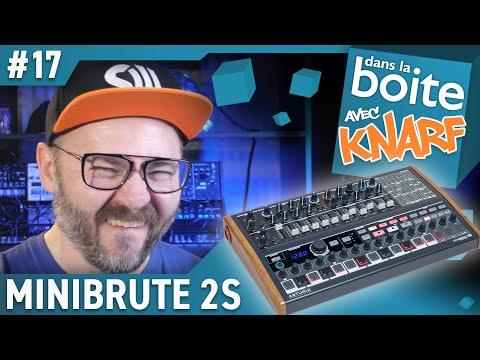 UN KICK BRUTAL avec le MINIBRUTE 2S -  synthé analogique Arturia - Dans La Boite avec Knarf