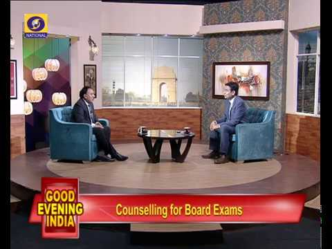 "Good Evening India- Discussion on "" Counseling for Board Exam"" Segment -1"