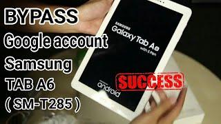 [How To] Bypass FRP Google Account Samsung Galaxy Tab A 6 (SM-T285) 2016 tanpa komputer update 2017