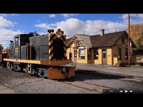 Moving Railroad equipment in the Chama yard