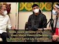 Imam Masjid Palestina Bertemu Gubernur Sumut Edy Rahmayadi.