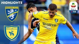 Frosinone 0-0 Chievo | Both Sides Held in Bottom of the Table Clash | Serie A