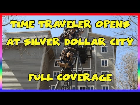 Time Traveler Opens at Silver Dollar City- On Ride POV Video & Full Coverage- Park Tales Special