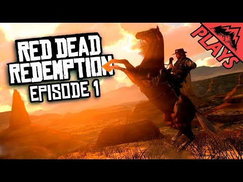 PREPPING FOR #2 - Red Dead Redemption Playthrough (Episode 1)