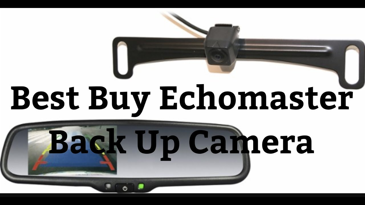 medium resolution of best buy echomaster back up camera rear view mirror wiring explained installed in ford f250