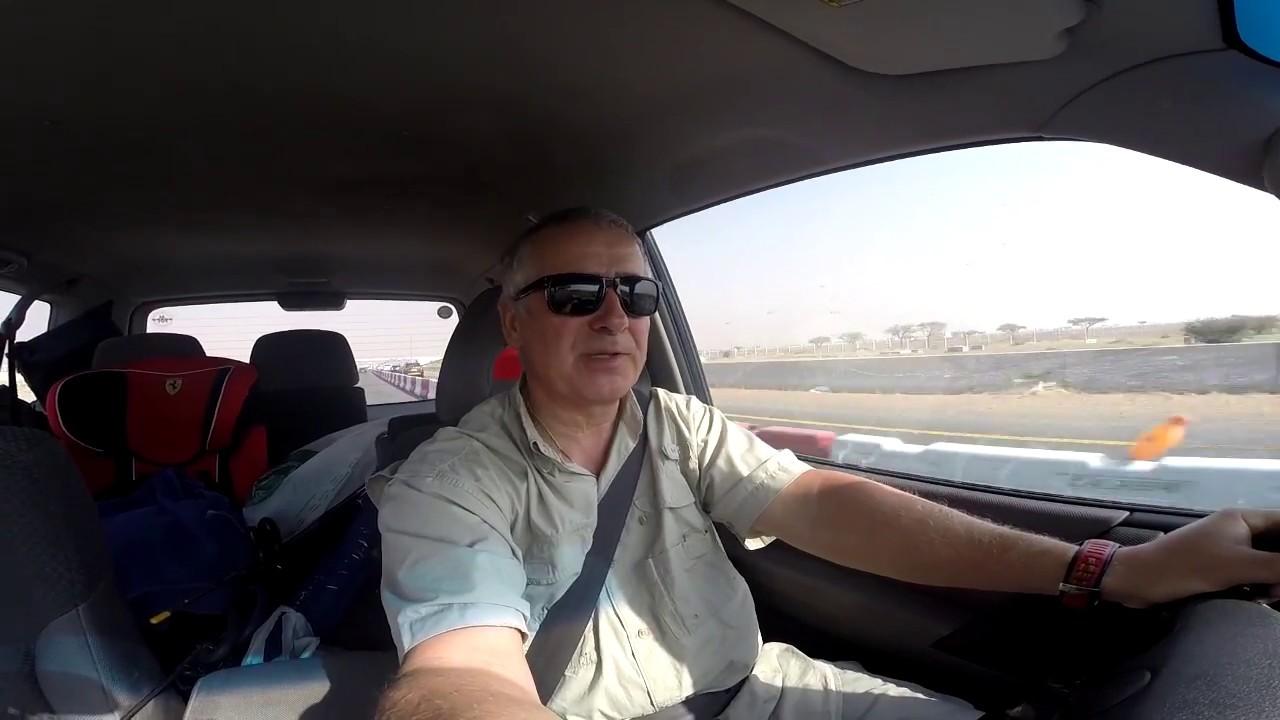 Путешествие из Дубая в Фуджейру на машине.