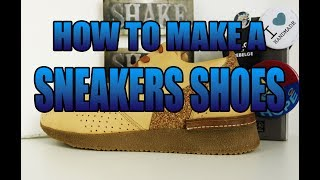 Alain Mukendi - Walk with me - How to make a sneakers shoes -Triple R test #3