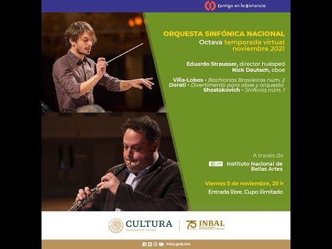 Villa-Lobos, Dorati, Shostakovich / Orquesta Sinfónica Nacional