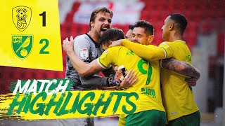 HIGHLIGHTS | Rotherham United 1-2  Norwich City