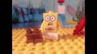 lego spongebob ripped pants
