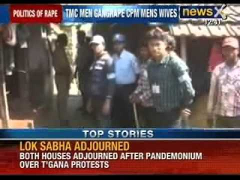 West Bengal gang rape: TMC men gang rape CPM men's wives - NewsX