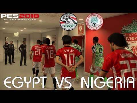 PES 2018 (PC) Egypt v Nigeria @ Anfield | 2018 FIFA World Cup Jerseys | 1080P 60FPS