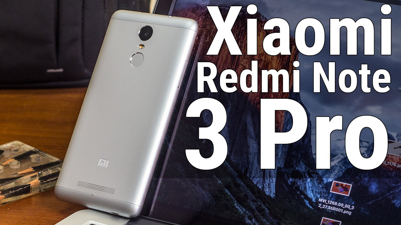 видео обзор xiaomi redmi note 3
