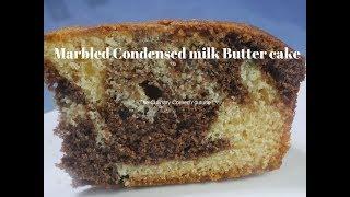 Condensed Milk Butter cake