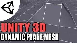 كيفية إنشاء طائرة / رباعية مش من خلال الكود [C#] - الوحدة 3d