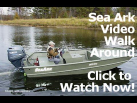 Seaark Boats For Sale >> 2015 Sea Ark RXV186 Welded Aluminum Fishing Boat Dealer SC NC For Sale - YouTube