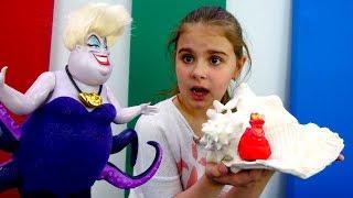Видео для девочек - Ариэль против Урсулы - Мультики Дисней