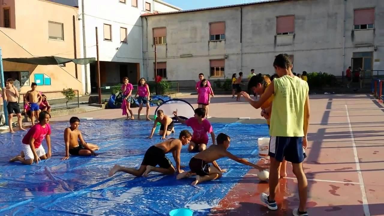 Ben noto I giochi con l'acqua dell'Estate Ragazzi 2013 - YouTube WL96
