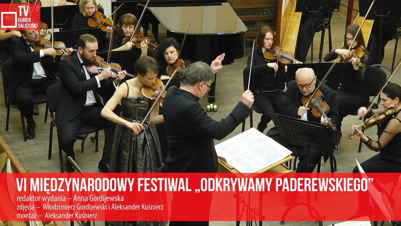 """VI Międzynarodowy Festiwal """"Odkrywamy Paderewskiego"""""""