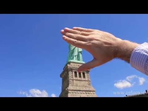 Statue of Liberty disappears !!! 2015
