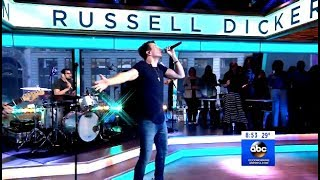 "Russell Dickerson Performs ""Blue Tacoma""  (GMA Live) Video"