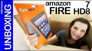 Amazon Fire 7 y HD 8 unboxing preview -el tablet superbarato-
